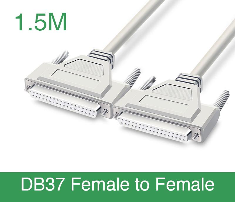 Cáp COM DB37 Female sang DB37 Famle (cái-cái) dài 1.5M