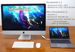 Sử dụng iMac làm màn hình phụ cho Macbook Air, Macbook Pro