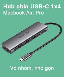 Bộ chia USB-C cho Macbook mới nhất