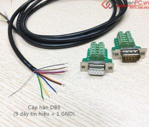 Cách tạo cáp RS232C Null Modem nối chéo không cần hàn