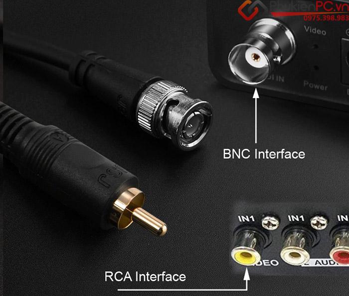 Cáp BNC sang AV RCA