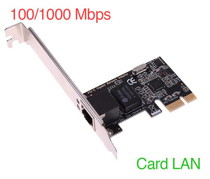 Card mạng PCIe to LAN 1Gb chipset RTL8111C