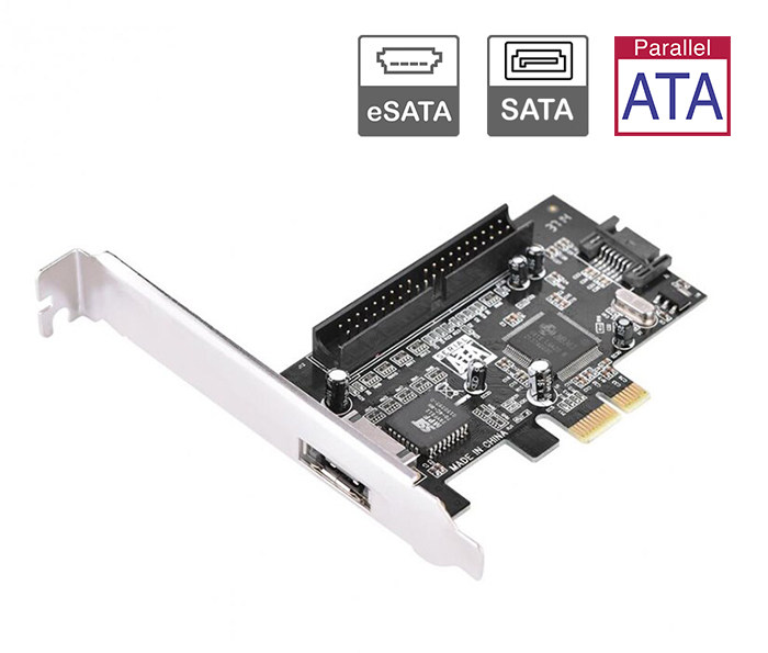 Card PCI-e to SATA eSATA IDE chipset JMB363
