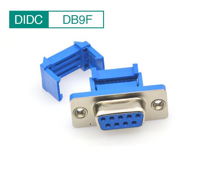 Đầu bấm kẹp DB9 (DIDC-9P) Female chân cái