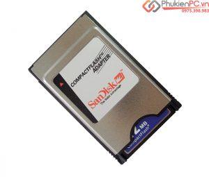 Đầu đọc thẻ nhớ CF sang PCMCIA Sandisk cho máy CNC