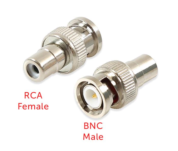 Giắc chuyển đổi AV RCA female to BNC male