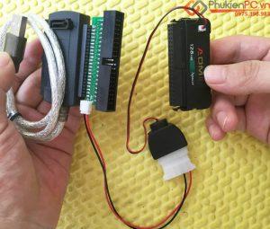 Thiết bị chuyển ổ cứng, thẻ nhớ IDE 44Pin 40Pin sang USB