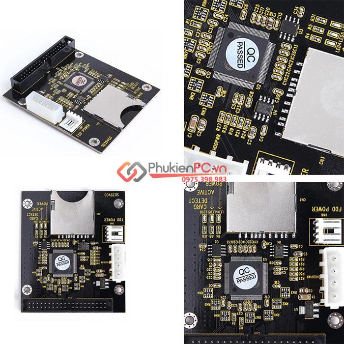 Adapter thẻ nhớ SD sang 3.5 HDD IDE 40pin