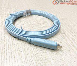 Tổng hợp các loại cáp Cisco Console USB RJ45, Mini USB