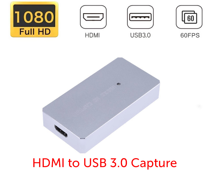Box ghi hình hdmi to usb 3.0 capture hd1080P 60hz live stream, video conference