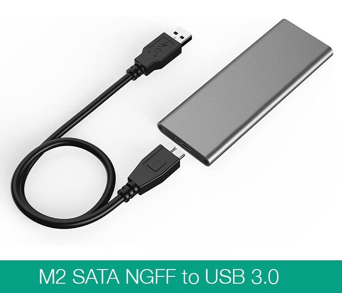 Box M2 SATA 2280 to USB 3.0 vỏ nhôm