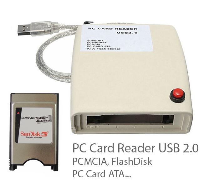 Đầu đọc thẻ nhớ ATA IDE 68pin PCMCIA