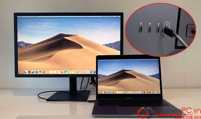 Cáp LG Thunderbolt 3 to Thunderbolt 3 dài 2m 40GB, 5K, 100W