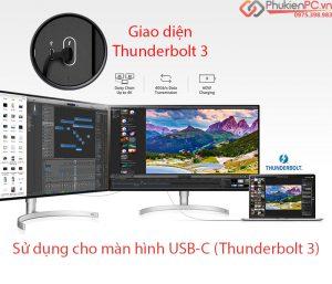 Sự khác biệt cáp Thunderbolt 3 bạn cần biết trước khi mua