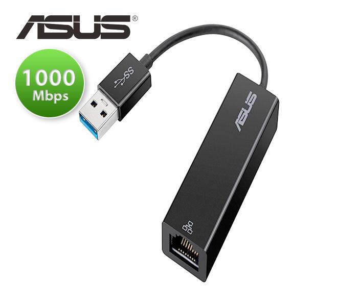 Cáp USB 3.0 sang LAN 1000 Mbps ASUS