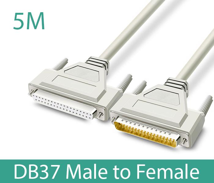 Cáp COM DB37 Male sang DB37 Famle dài 5M