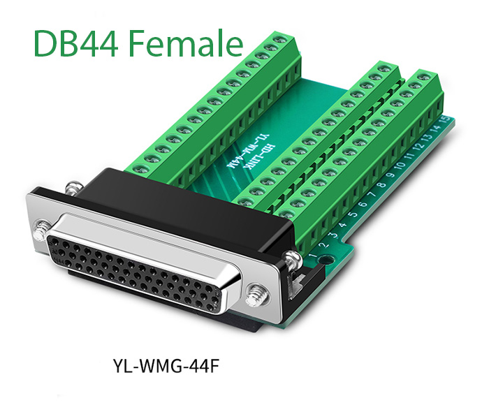 Đầu nối DB44 Female chân cái vặn vít