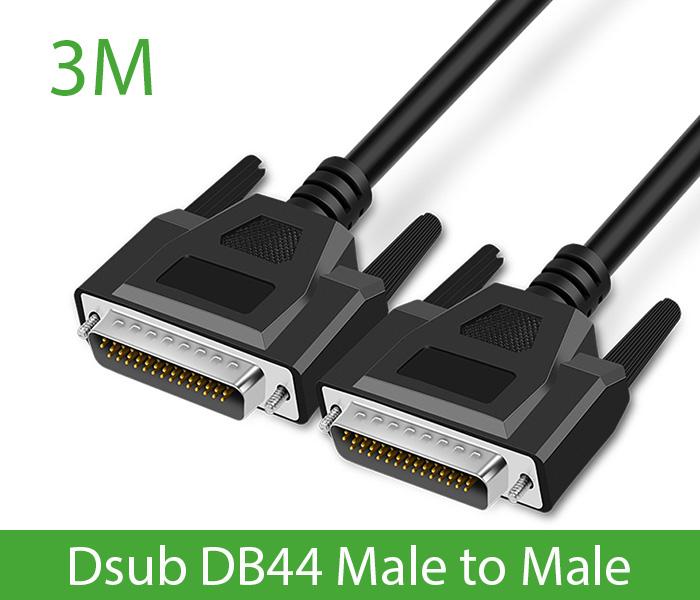 Cáp COM DB44 đực sang đực dài 3M