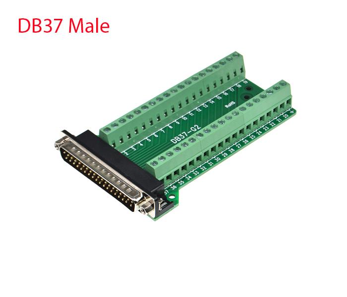 Đầu bấm DB37 Male (đực) vặn vít
