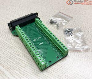 Đầu nối DB37 domino vặn vít không cần hàn