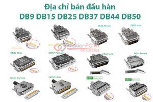 Địa chỉ bán đầu hàn DB9 DB15 DB25 DB26 DB37 DB44 DB50