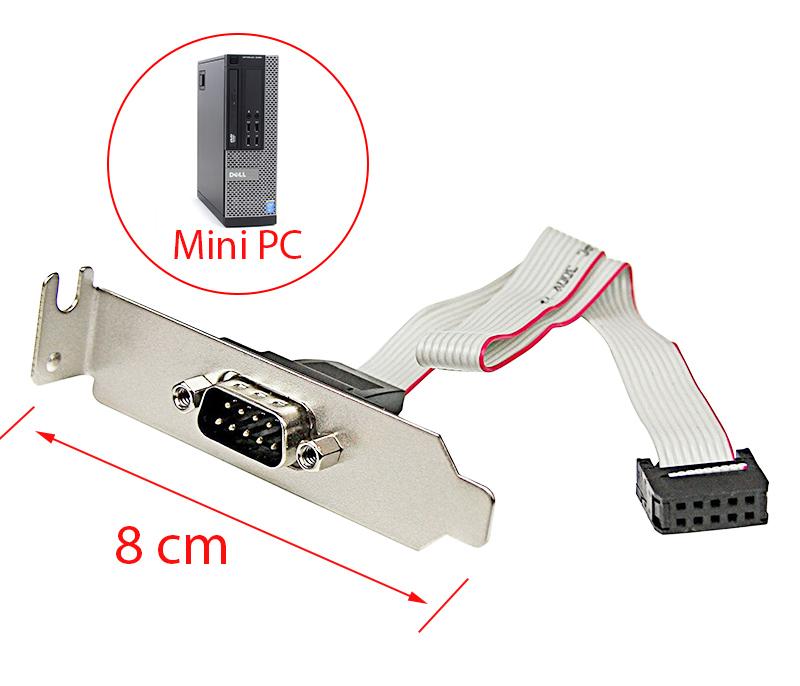 Cáp chuyển 9Pin COM Mainboard ra RS232 Male cho Mini PC