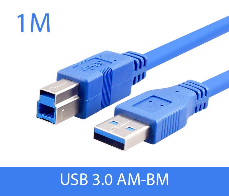 Cáp USB 3.0 AM-BM Type B dài 1M