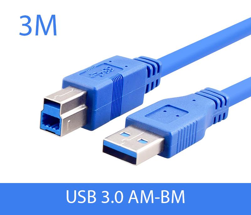 Cáp USB 3.0 AM-BM Type B dài 3M