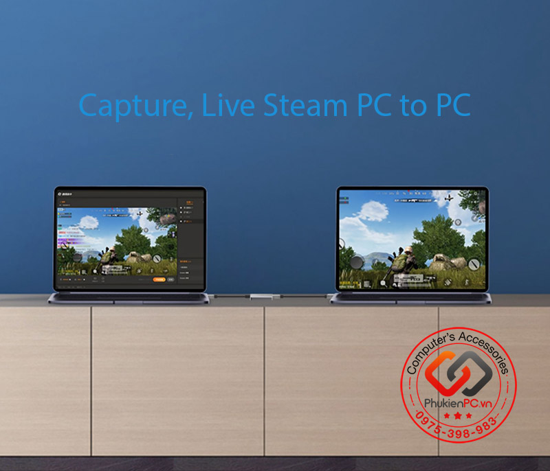 Cáp HDMI to USB 3.0 Capture 1080P 60 FPS