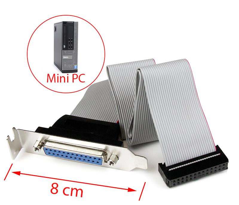 Cáp chuyển 26Pin Mainboard ra DB25 LPT Female cho mini PC