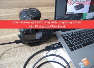 Thiết bị Live stream máy ảnh chuyển đổi HDMI sang USB