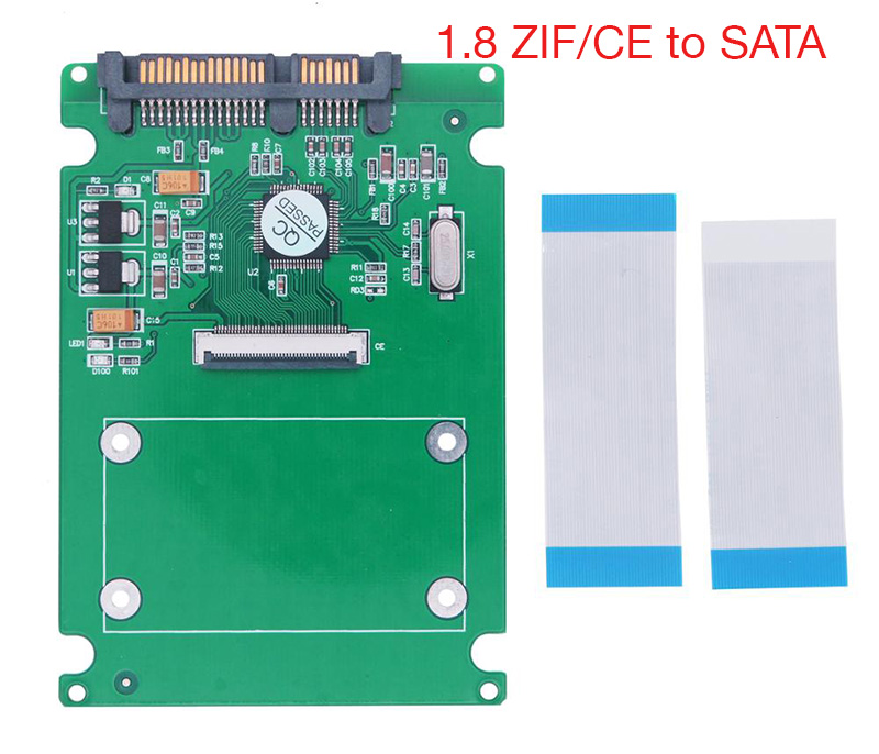 Adapter HDD ZIF CE 1.8 sang SATA 22Pin