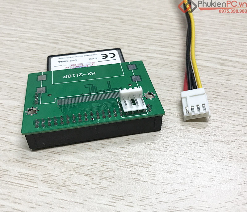 Adapter CF to 3.5 Male 40 Pin IDE