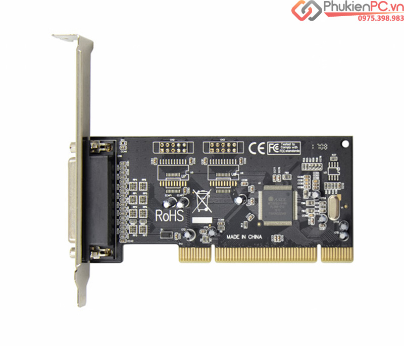 Card PCI sang LPT DB25 Parallel Chipset MCS9865