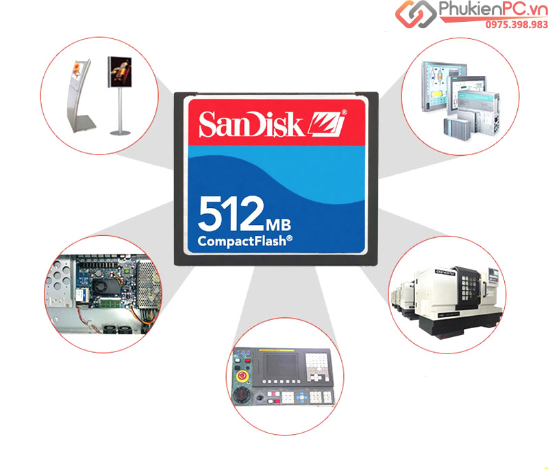 Thẻ nhớ CF Card Sandisk