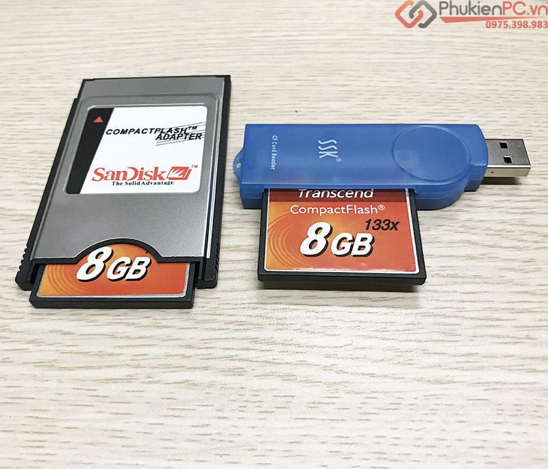 Thẻ nhớ Transcend CF Compact Flash 8GB