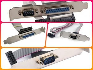 Mở rộng cổng COM RS232, DB25 LPT chi phí giá rẻ hiệu quả