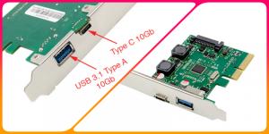 Địa chỉ bán Card mở rộng USB 3.1 Type C 10Gb giá rẻ