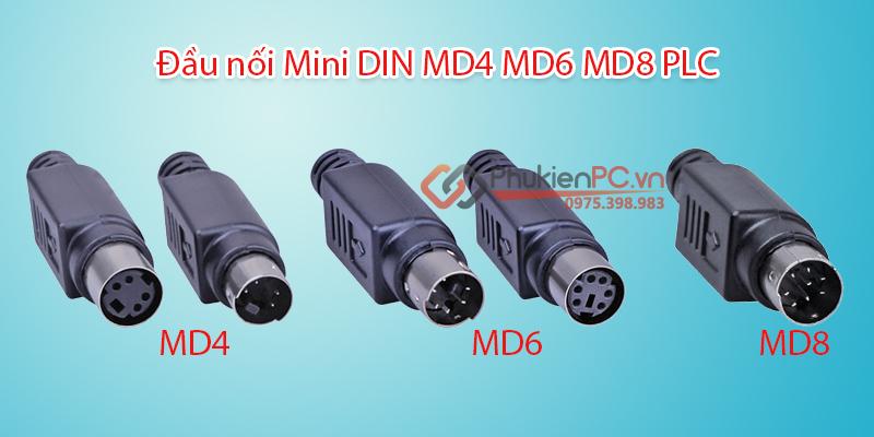 Nơi bán đầu nối MD4 MD6 MD8 PLC giá rẻ