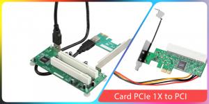 Chuyển đổi PCIe sang PCI chân ngắn sang chân dài