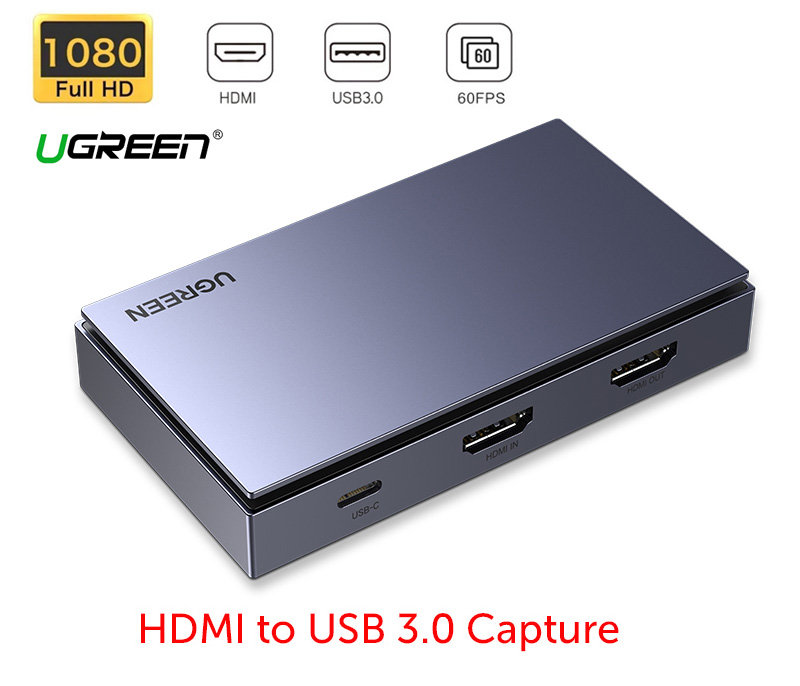 Box ghi hình HDMI to USB 3.0 capture hd1080P 60hz Ugreen