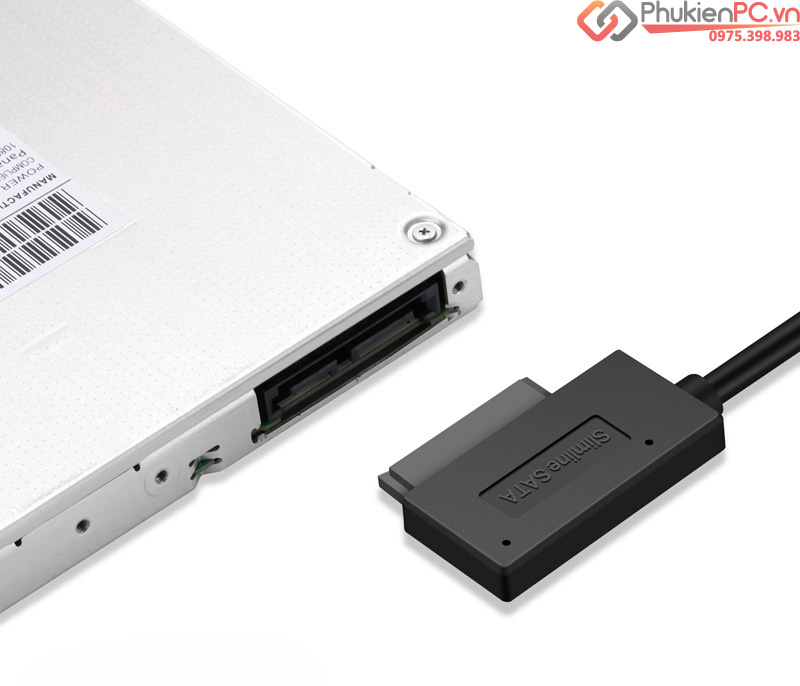 Cáp chuyển DVD Laptop ra USB 2.0