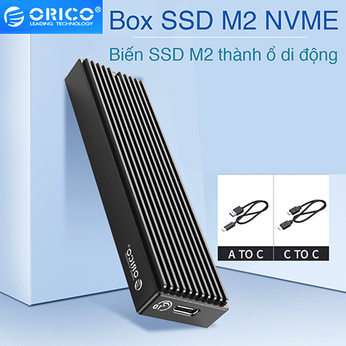 Biến SSD M2 NVMe thành ổ cứng di động