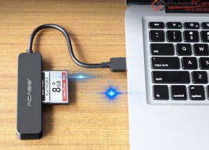 Thiết bị đọc thẻ nhớ CF card ra USB 3.0 tốc độ cao