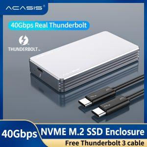 Nơi bán box M2 NVMe to Thunderbolt 3 40Gb chính hãng