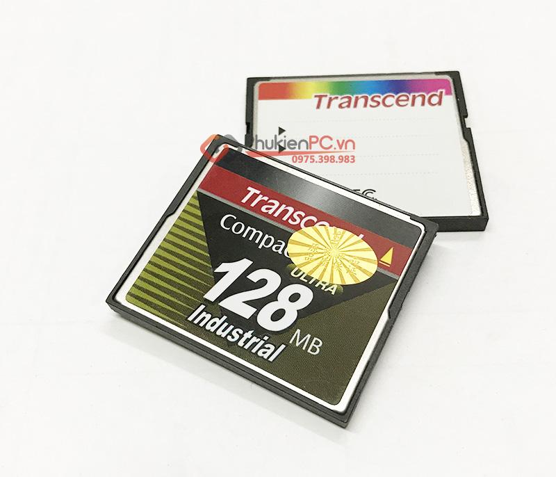 Thẻ nhớ CF Card Transcend 128MB công nghiệp