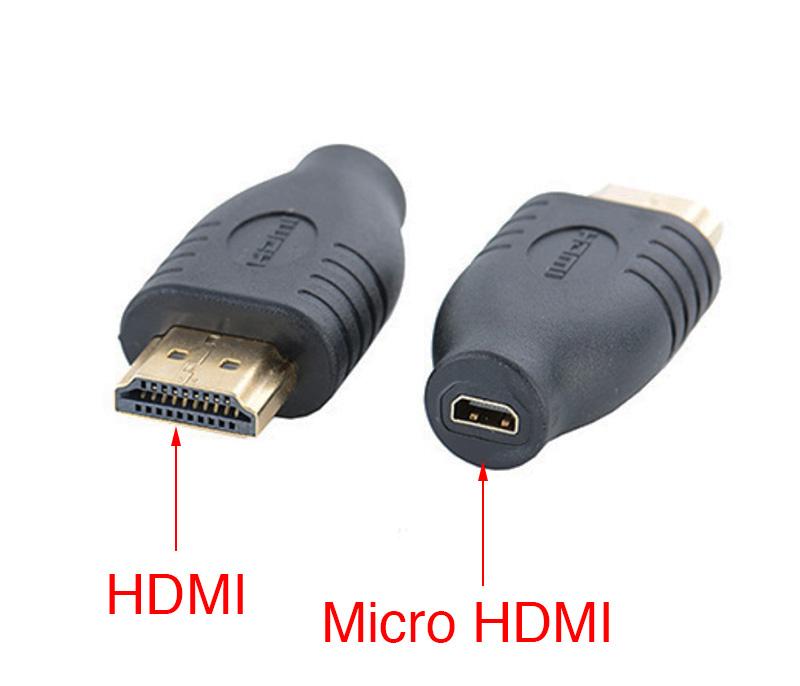 Đầu giắc chuyển HDMI sang Micro HDMI