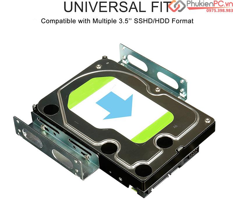 Khay gắn ổ cứng HDD 3.5 vào ổ đĩa CD DVD ROM