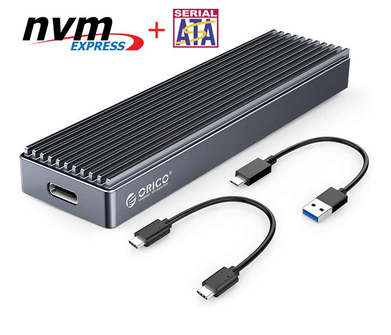 Box đa năng SSD M2 NVMe, SATA to Type C Orico M2PJM-C3
