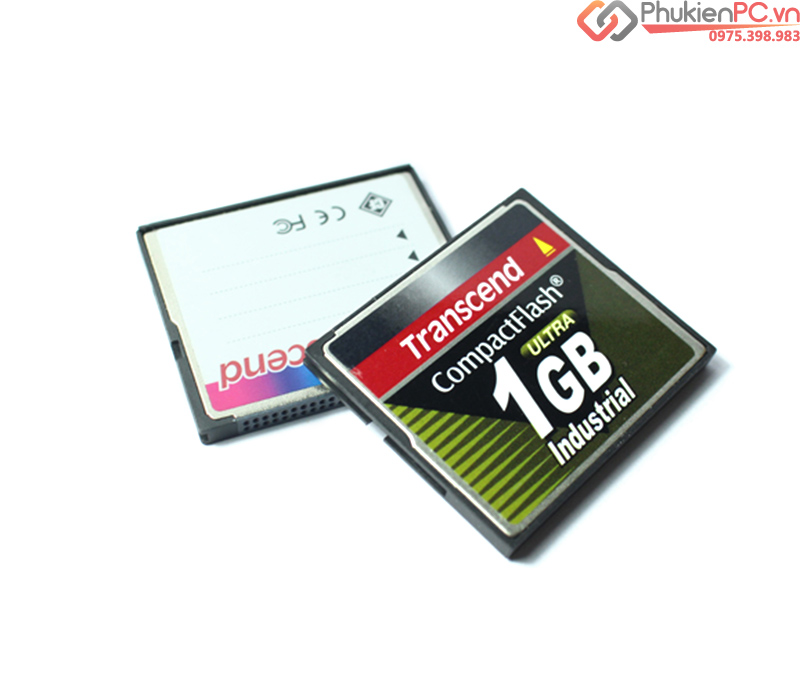 Thẻ nhớ CF Card Transcend 1GB công nghiệp